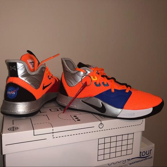 1980f4d074bd0 Nike Shoes | Rare Paul George Pg 3 Nasa Brand New Size 9 | Poshmark